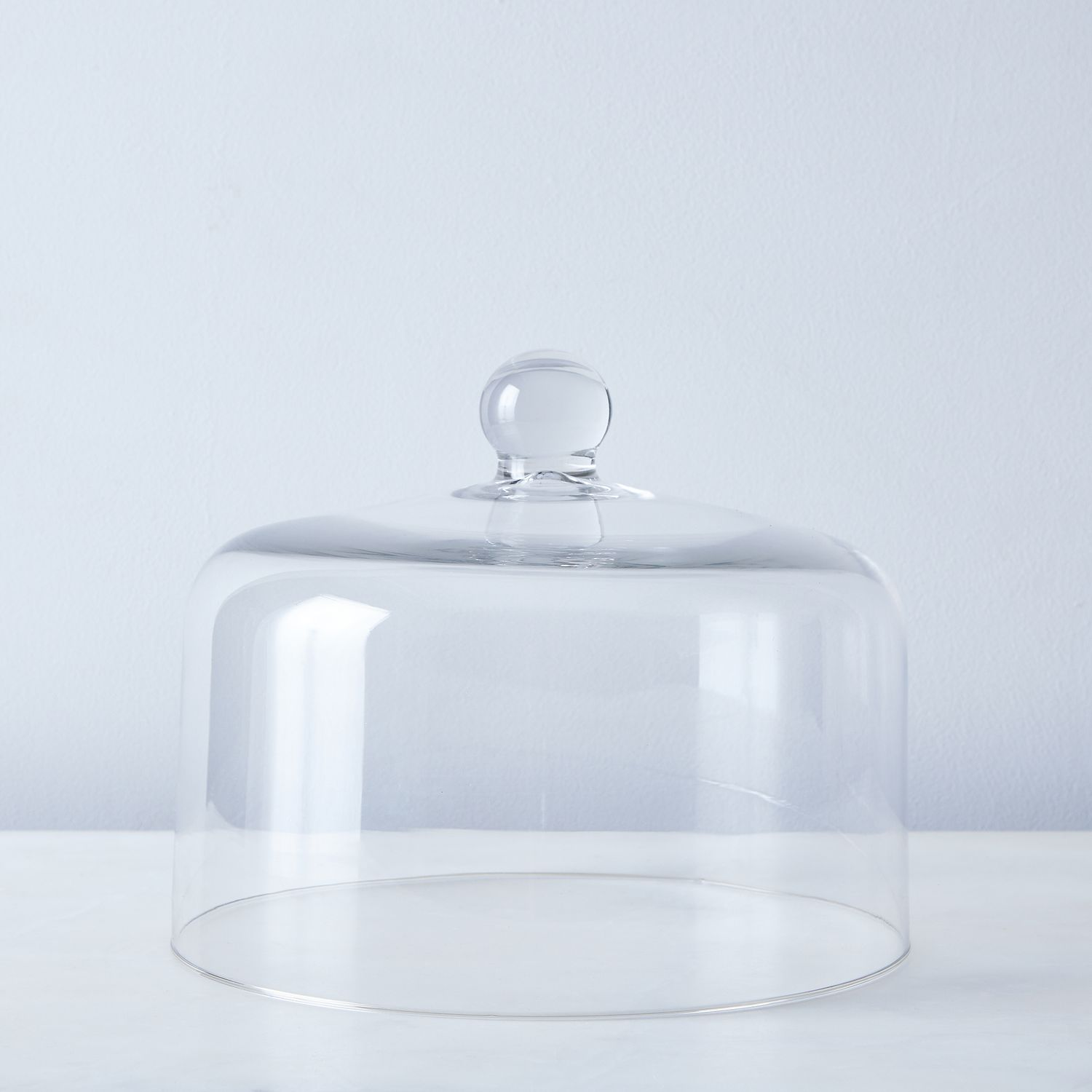 kitchen stand mixer cabinet options blown glass cake dome on food52