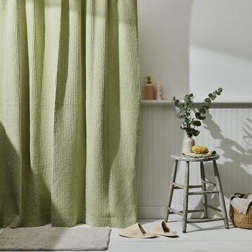 https food52 com shop products 5899 simple soft cotton waffle shower curtain