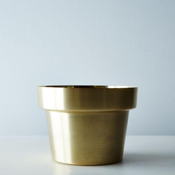Brass Flower Pot Food52
