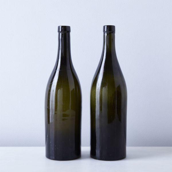Vintage French Wine Bottles