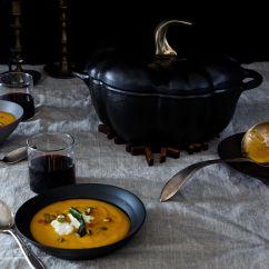 Bronze Kitchen Appliances Countertop Decor Staub Cast Iron Pumpkin Cocotte On Food52