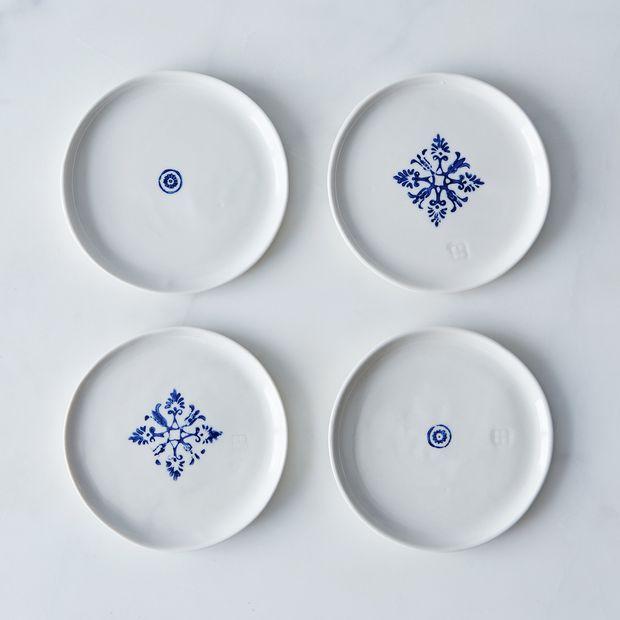 porcelain dessert plates set