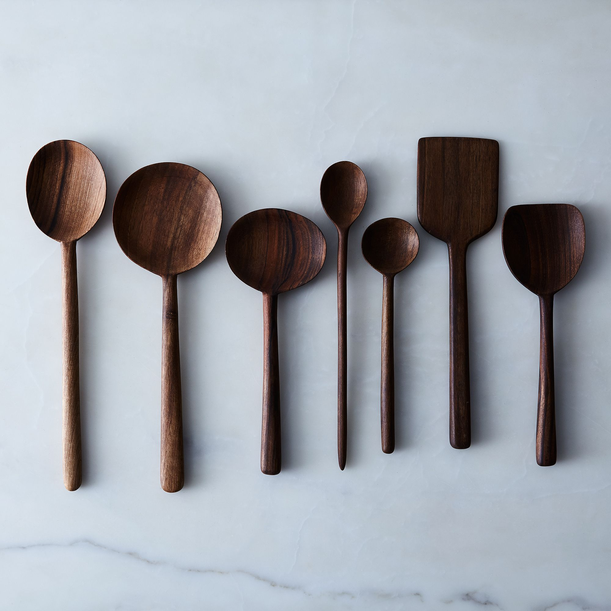 kitchen tool cabinets tampa tools food52 shop simple walnut wooden spoons