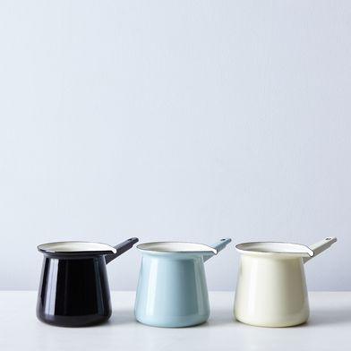 Enamel Turkish Coffee Pot