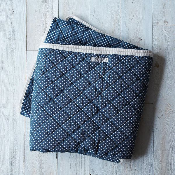 Quilted Throw Blanket Food52