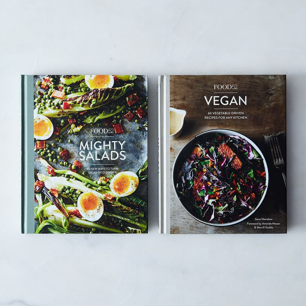 Signed Copy: Food52 Vegan Cookbook - Mighty Salads and Vegan Set