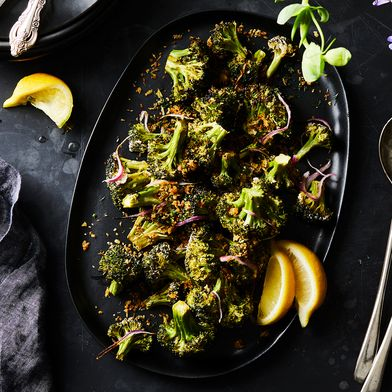 Your New Favorite Broccoli Is Charred, Crispy & Buttermilk-Brined