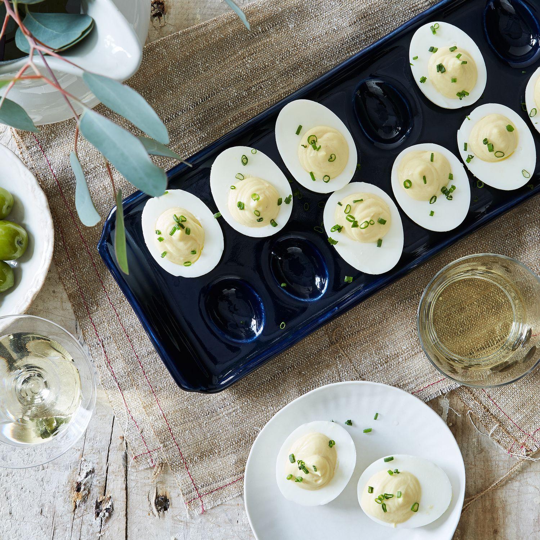 kitchen knives set storage table deviled egg platter on food52