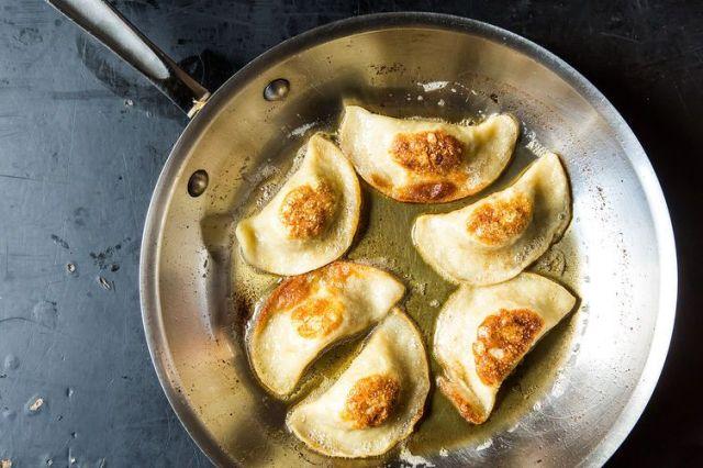 Potato, Mushroom & Caramelized Onion Pierogi on Food52