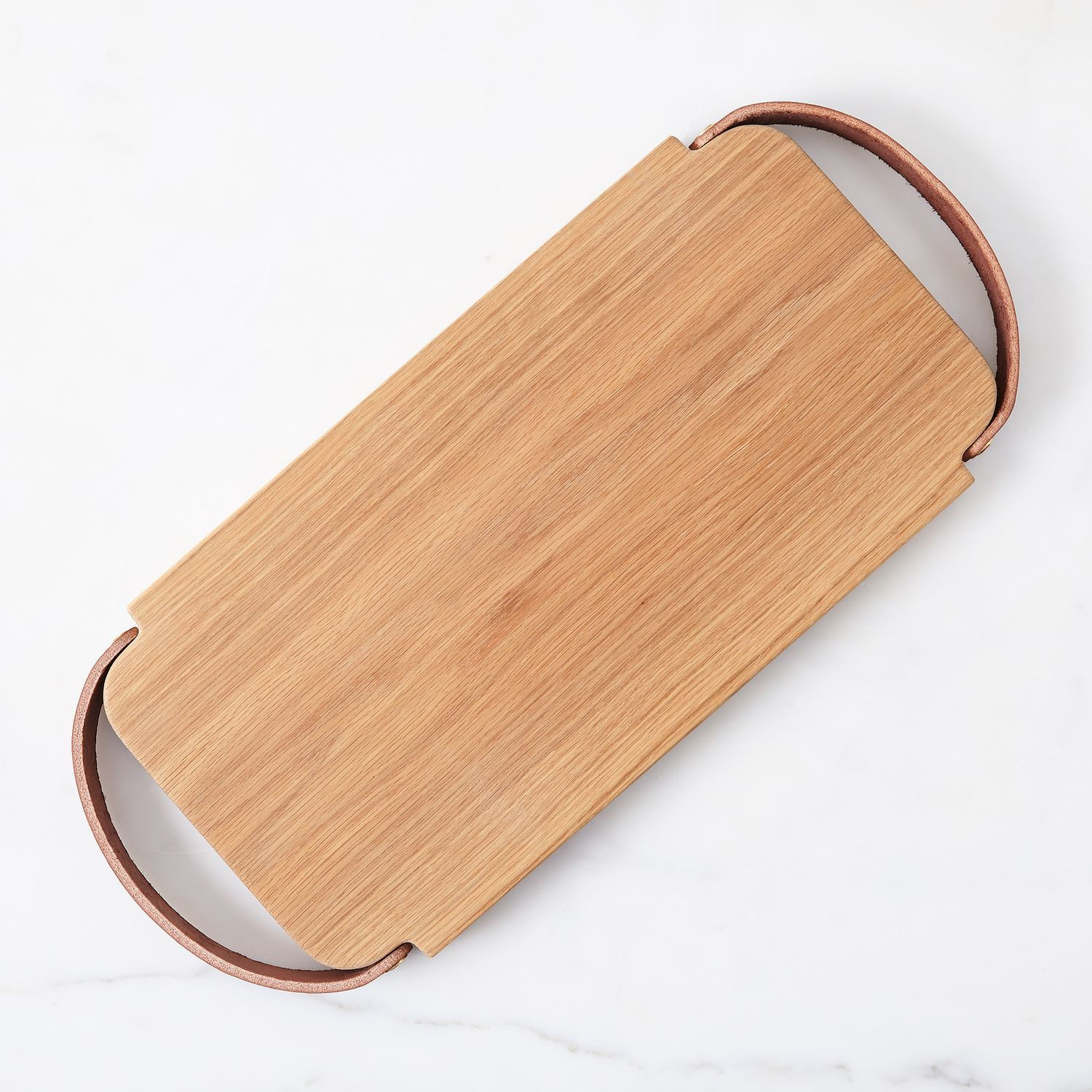 Leather Handled Oak Tray On Food52