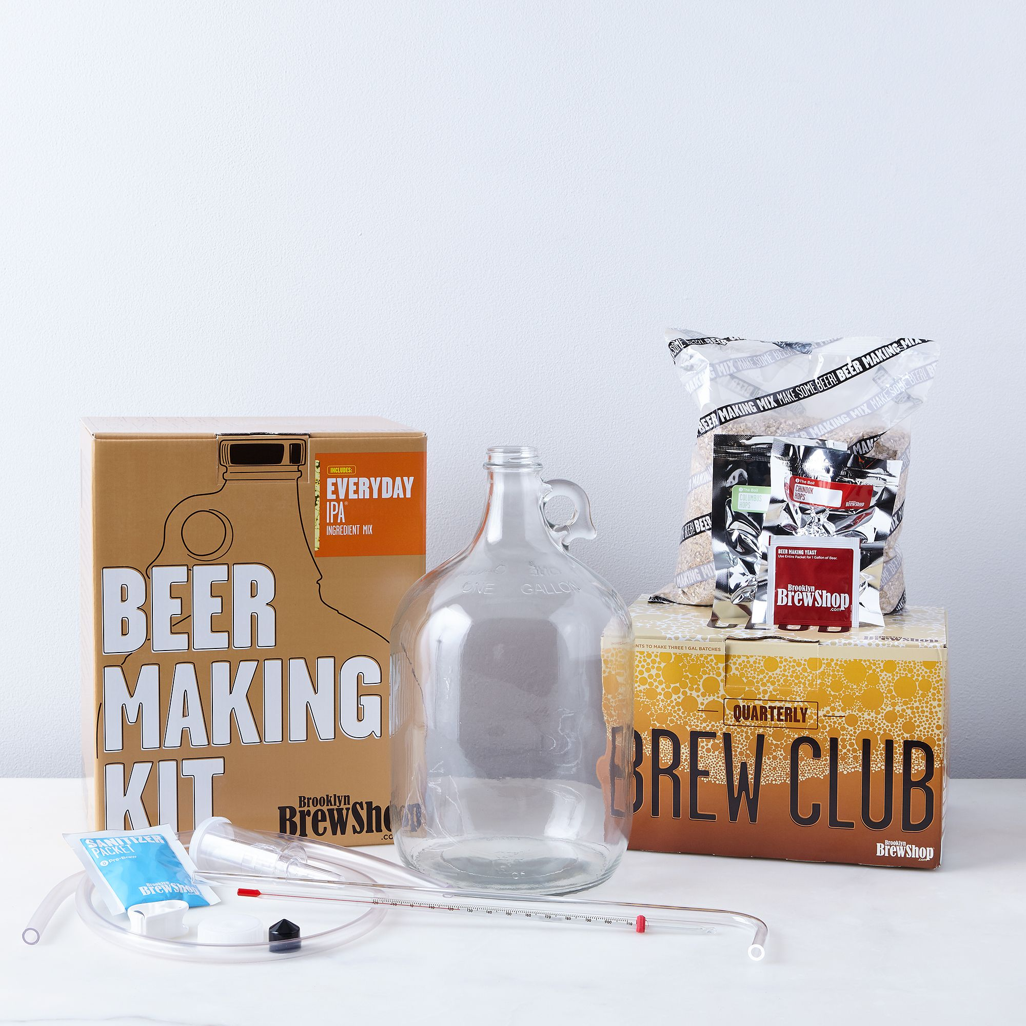Beer Brewing Subscription - 12 Month, With Beer Making Kit