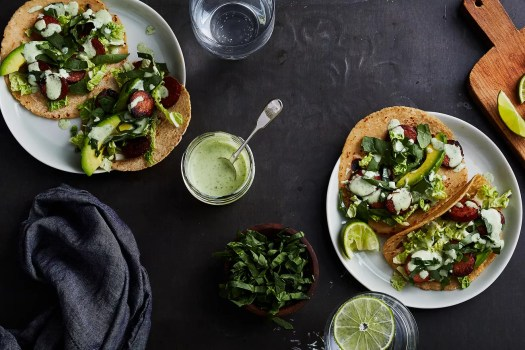chorizo tacos with slaw
