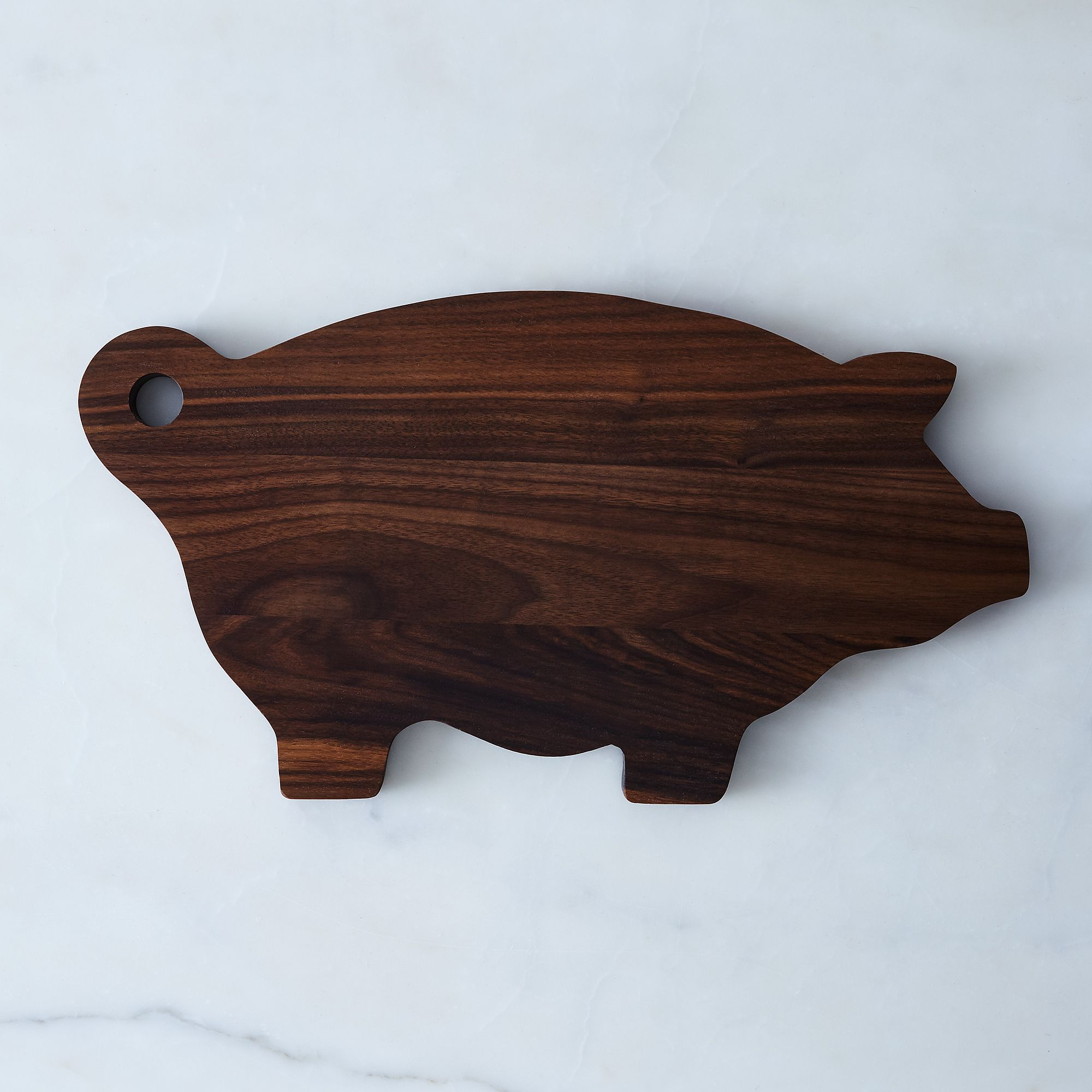 Pig Cutting Board - Walnut