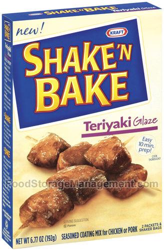 Kraft Shake And Bake Teriyaki