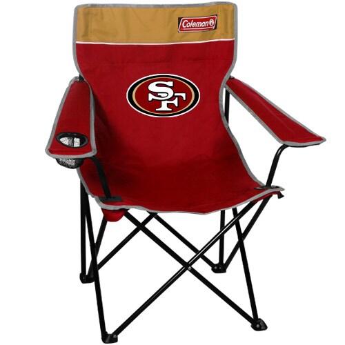 Coleman San Francisco 49ers ScarletGold Quad Folding