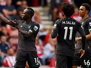 Southampton 1 - 2 Liverpool
