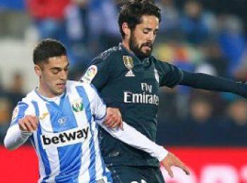 Leganes 1 - 0 Real Madrid