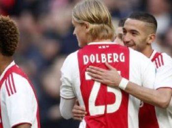 Ajax 5 - 0 NAC Breda