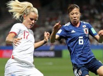 Japan 0 - 2 England