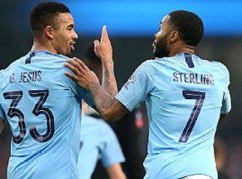 Manchester City 9 - 0 Burton Albion