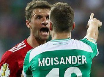Werder Bremen 2 - 3 Bayern Munich