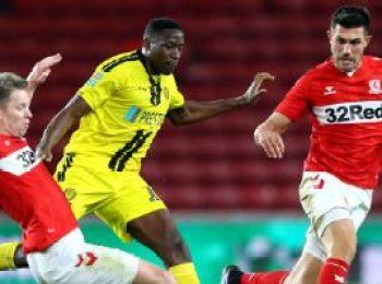 Middlesbrough 0 - 1 Burton Albion