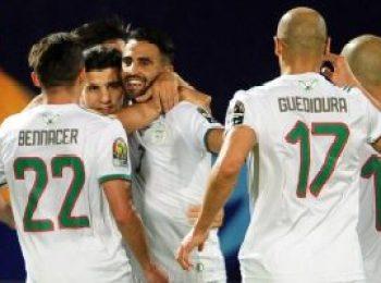 Algeria 3 - 0 Guinea
