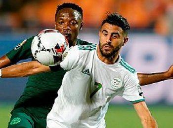 Algeria 2 - 1 Nigeria