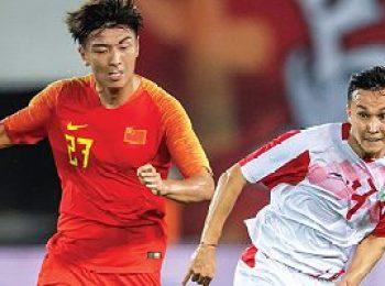 China 1 - 0 Tajikistan