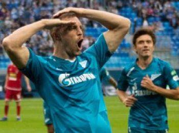 Zenit St. Petersburg 2 - 1 Spartak Tambov