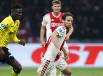 Ajax 6 - 0 VVV-Venlo