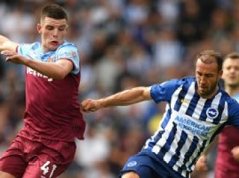 Brighton & Hove Albion 1 - 1 West Ham United