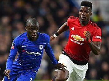 Chelsea 0 - 2 Manchester United