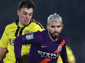 Burton Albion 0 - 1 Manchester City