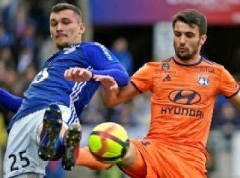Strasbourg 2 - 2 Lyon