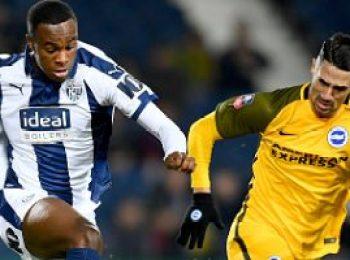 West Bromwich Albion 1 - 3 Brighton & Hove Albion