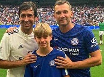 Chelsea XI 4 - 5 Real Madrid Legends