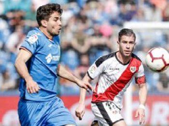 Getafe 2 - 1 Rayo Vallecano
