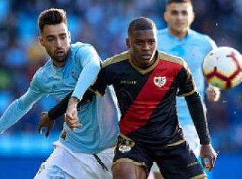 Celta Vigo 2 - 2 Rayo Vallecano