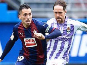 Eibar 1 - 2 Real Valladolid