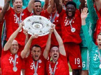 Bayern Munich 5 - 1 Eintracht Frankfurt