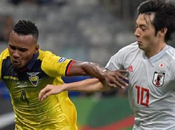 Ecuador 1 - 1 Japan
