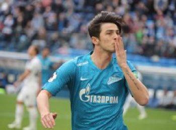 Zenit St. Petersburg 4 - 2 Krylya Sovetov Samara