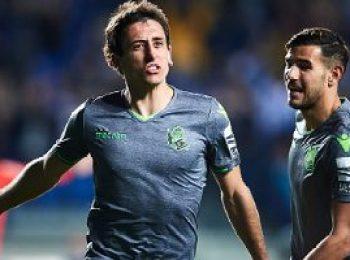 Real Sociedad 3 - 0 Leganes