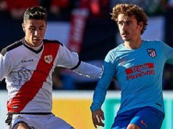 Rayo Vallecano 0 - 1 Atletico Madrid