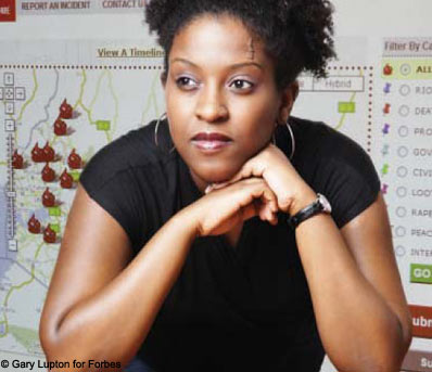 Ory Okolloh turned the Web into a living record of crisis and relief.
