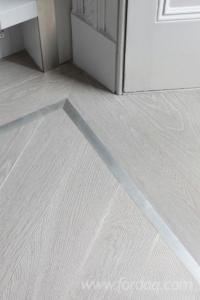 Light Grey colour Multi-layer Engineered Wood Flooring ...
