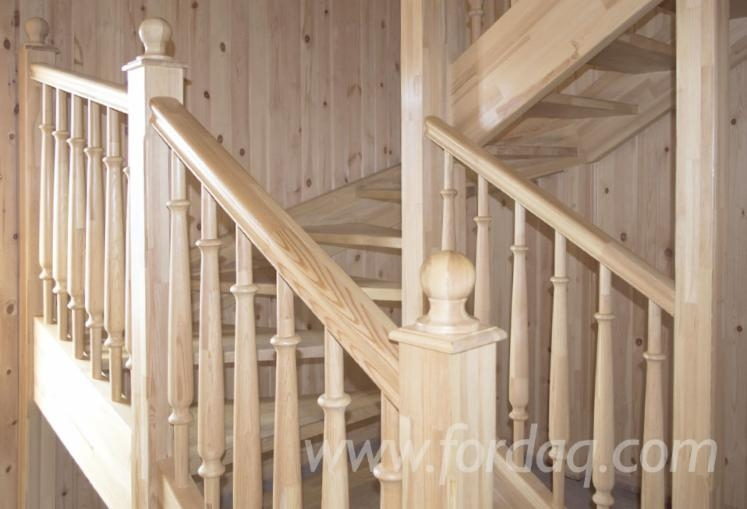 Pine Stair Treads 40 Mm Extra Type | Pine Wood Stair Treads | Stair Risers | Stair Nosing | Lumber | Unfinished Pine | Plywood