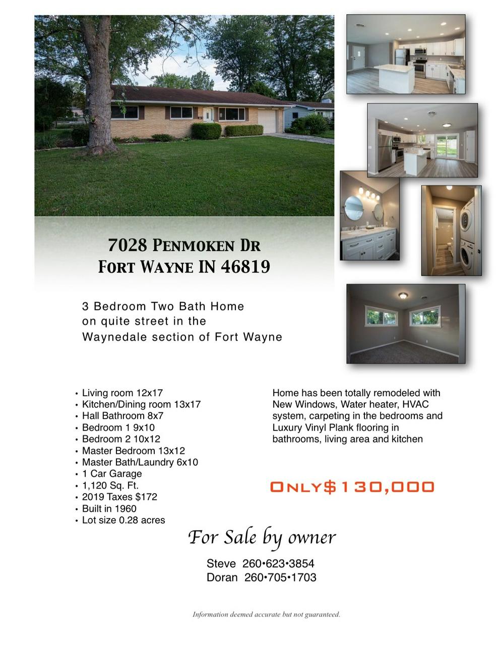 For Sale By Owner Fort Wayne : owner, wayne, Penmoken, Drive, Wayne,, 46819, Beds,, Single, Family, Owner, ForSaleByOwner.com