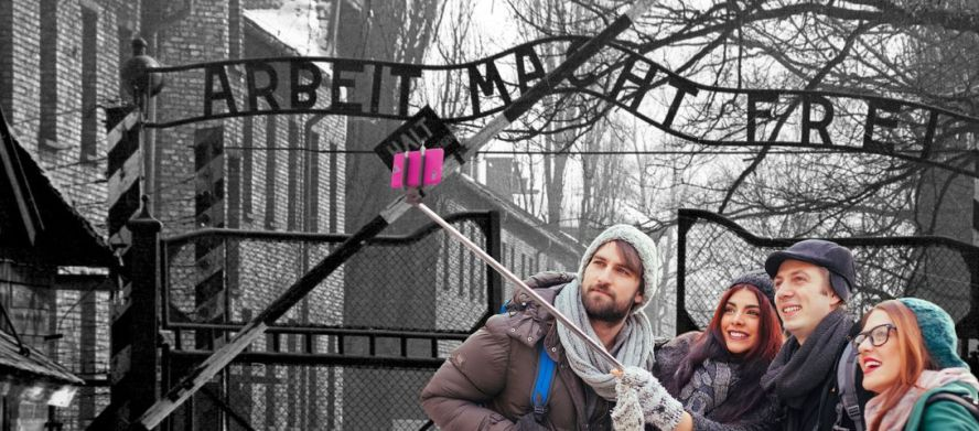 Will a Selfie at Auschwitz Make You Free? – The Forward